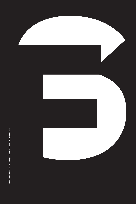 AIGA InsideOutSF Poster